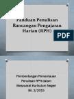 Panduan Penulisan RPH Pak21 Kbat