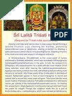 Sri Lalitaa Trishati Maala