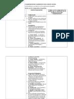 Esquema de Elaboración Del Diagnóstico Del Plan de Acción