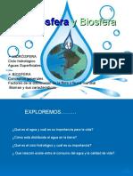 Hidrosfera y Biosfera