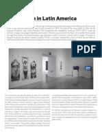 Art Activism in Latin America - Reina Sofia