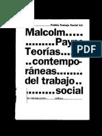 Libro Teorias Contemporaneas Del Trabajo Social Payne