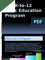 K 12 Program