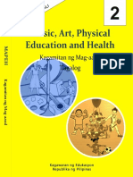 Grade 2 Learning Module in Mapeh- Cover
