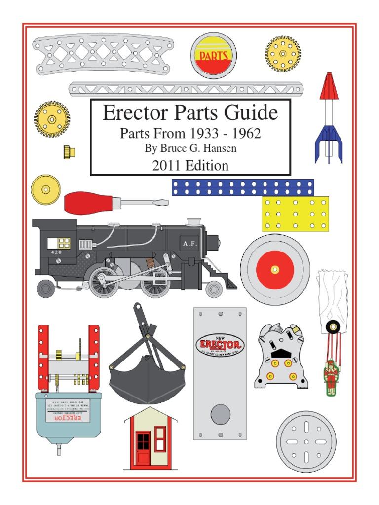 Gilbert Erector Set P12 Crown Gear Nickel A.C