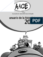 Anuario de La Historieta 2005 Editado Asociación de Autores de Comic de España (AACE)