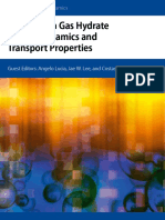 Advances in Gas Hydrates Thermodynamics and Trasot Properties