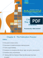 Ch 8 Publication Process by Hina
