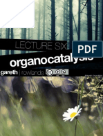Organo Catalysis - Organic Chemistry Notes at Examville.com