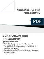 Curriculum and Philosophy.ppt
