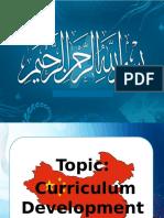 curriculum development in China