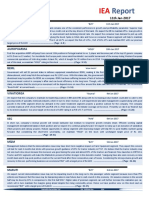 IEA Report 11th January