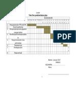 Contoh Timeline Pembentukan Ptps1