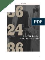 36 24 36 (Start Up Guide)