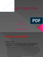PRINSIP GENETIKA Aji Dwi Wicaksono