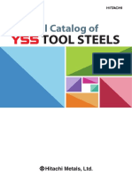 Yss Tool Steels d