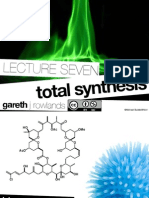 Total Synthesis - Organic Chemistry Notes at Examville.com