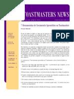 Toastmasters News • edición de junio 2010