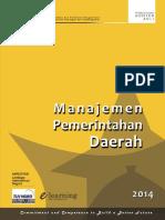 Modul Manajemen Pemerintahan Daerah