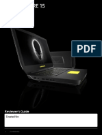 Alienware 15 Review Guide