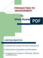 Management- Chapter 1