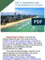 Aula Introdução à Geomorfologia Costeira e Relevância Do Estudo