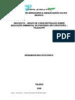 Projeto - Arquibancada Ecológica