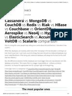 Cassandra vs MongoDB vs CouchDB vs Redis vs Riak vs HBase vs Couchbase vs Hypertable vs ElasticSearch vs Accumulo vs VoltDB vs Scalaris Comparison __ Software Architect Kristof Kovacs