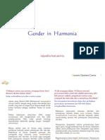 Keharmonisan Gender