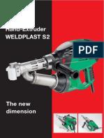 Extruderul Manual Weldplast S2