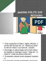 Ex.5 Polite Expressions
