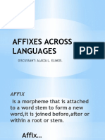 Affixes Across Languages- Labine