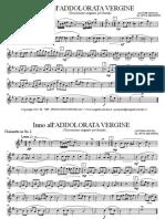 01 - Inno All'Addolorata Vergine (AUTORE IGNOTO - Arr. MAGNIFICI P.) - [Parti Maestro]