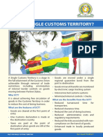 Single Customs Territory