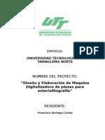 Francisco Noriega Cortez Anteproyecto