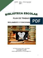 Plan Trabajo Bib. Ceip Rft 2016