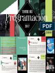 Programación Teatro Río Enero - Junio 2017