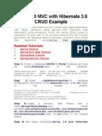 Spring 3 0 MVC With Hibernate 3 0 CRUD Example | Hypertext