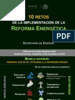 10 Retos de La Implementación de La Reforma Energetica (Nov 2016)