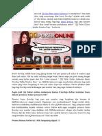 QQ Poker Online Indonesia Bonus Freechip Daftar Member Baru