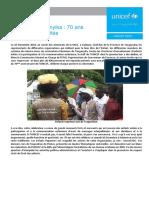 La célébration des 70 ans de l'UNICEF au Tanganyika