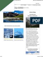 Trekking in India PDF