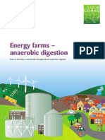 Energy Farms-Anaerobic Digestion