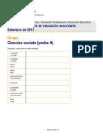 2011 Setembro Social Exame