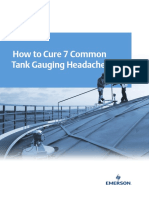How to Cure 7 Common Tank Gauging Headaches