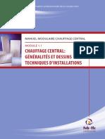 Chauffage Central - Généralités Et Dessins Techniques d'Installations