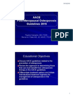 New Osteo Peros is Guidelines