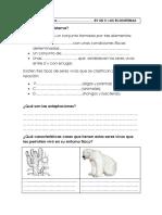 Los Ecosistemasadaptacióncurricular
