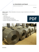 India_ Industrial Policy, Liberalization and Impact - InSIGHTS Page-1