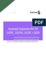 Alcatel-Lucent - Apresentação Equipamentos SDH_Jun13